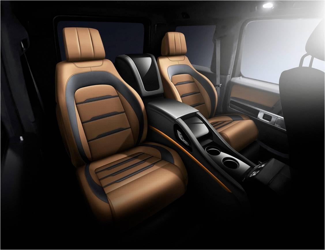 Luxury Interior MBS Gewinner Premium Car Seats for G-class W464 new model