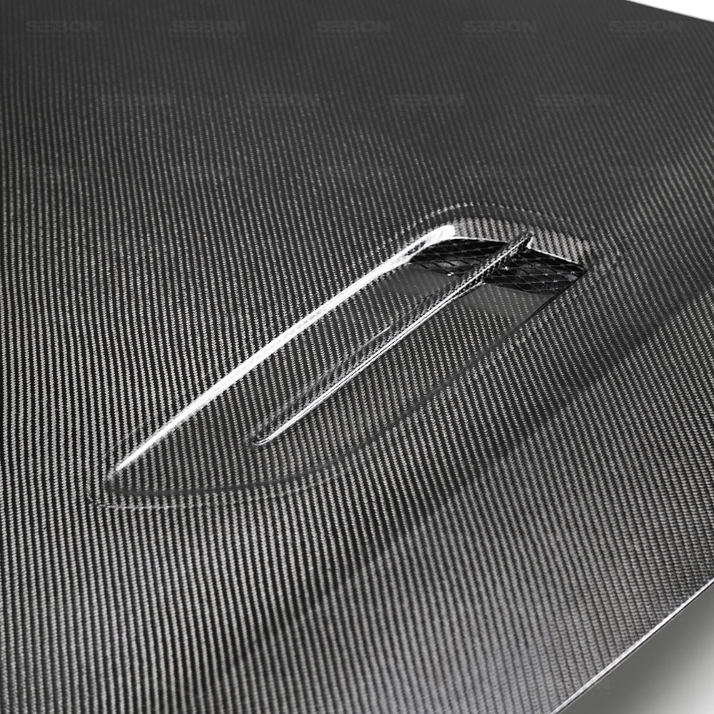 SEIBON OEM-STYLE CARBON FIBER HOOD FOR  KIA STINGER new style