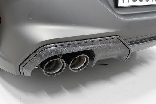 Hodoor Performance Carbon fiber rear diffuser inserts BMW M8