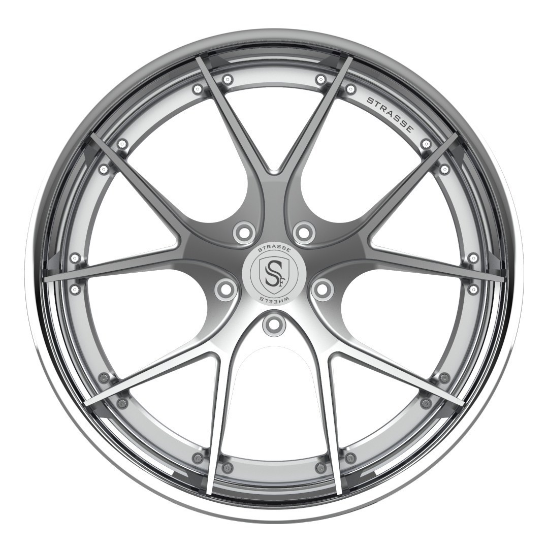Strasse  SM5R DEEP CONCAVE FS 3 Piece forged wheels