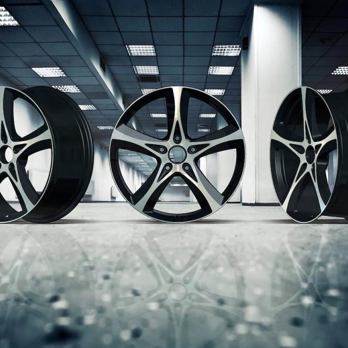 Solomon Alsberg P1 forged wheels