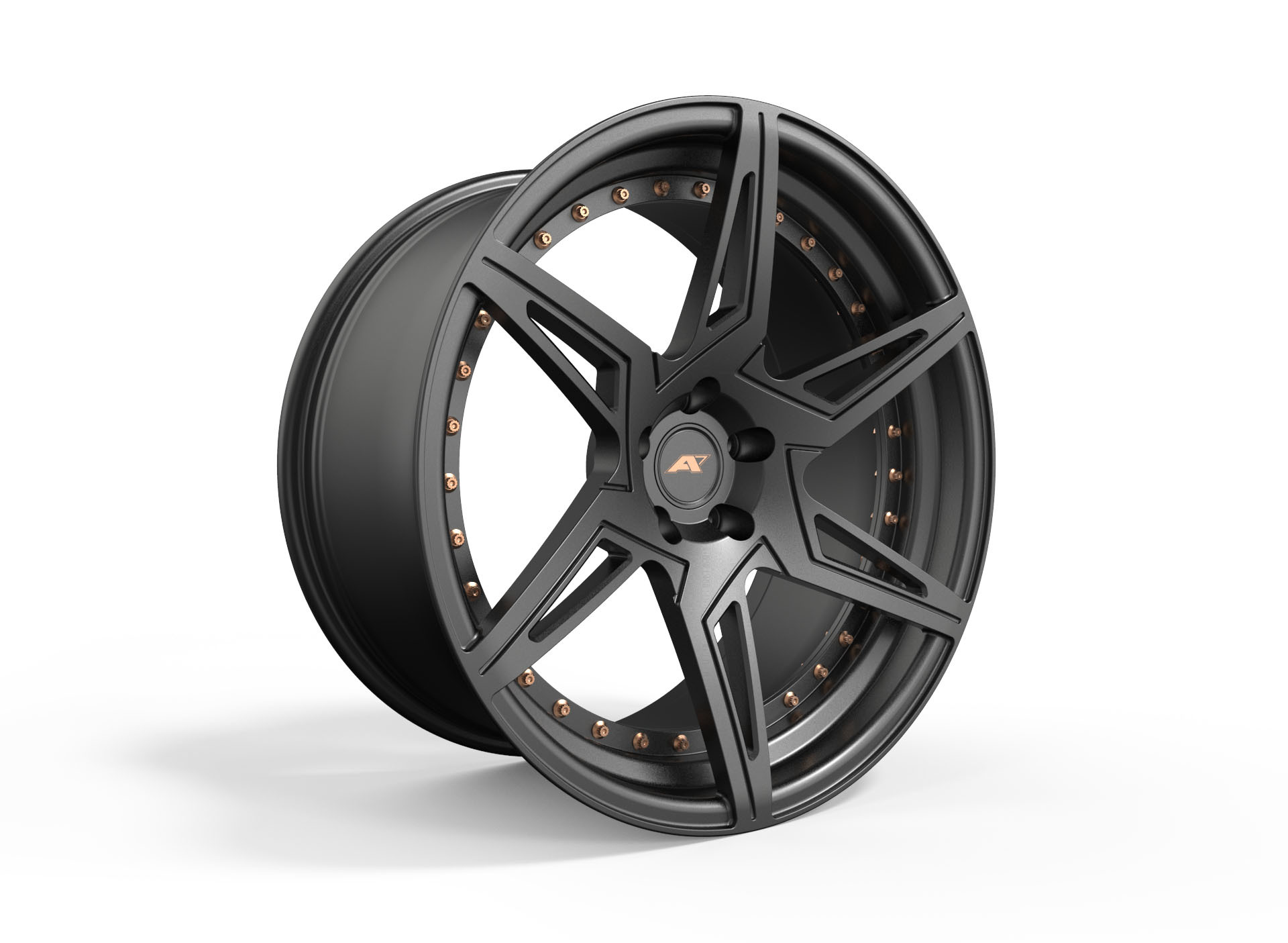 AMP Forged Wheels AMP 6D-2P