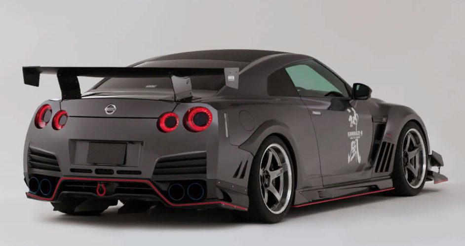 Varis Body Kit  for NISSAN CBA R35 Circuit ver.GT-R latest model
