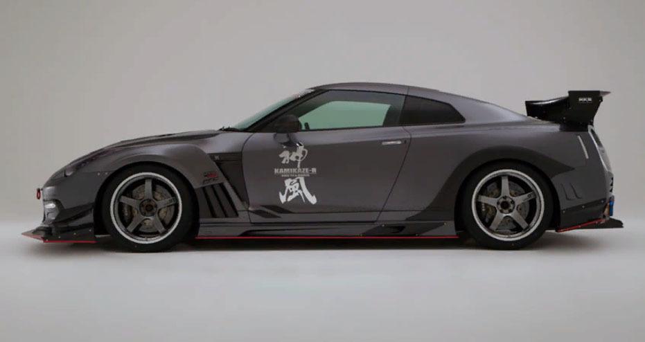 Varis Body Kit  for NISSAN CBA R35 Circuit ver.GT-R new model