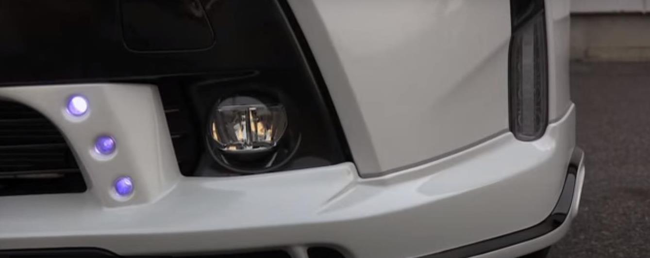 Rowen body kit for Toyota PRIUS α (PRIUS V) Late Model latest model
