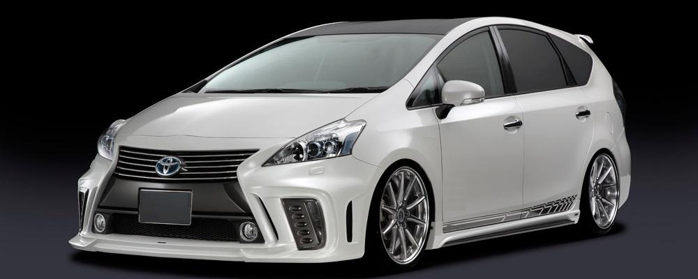 Rowen body kit for Toyota PRIUS α (PRIUS V) Late Model new model
