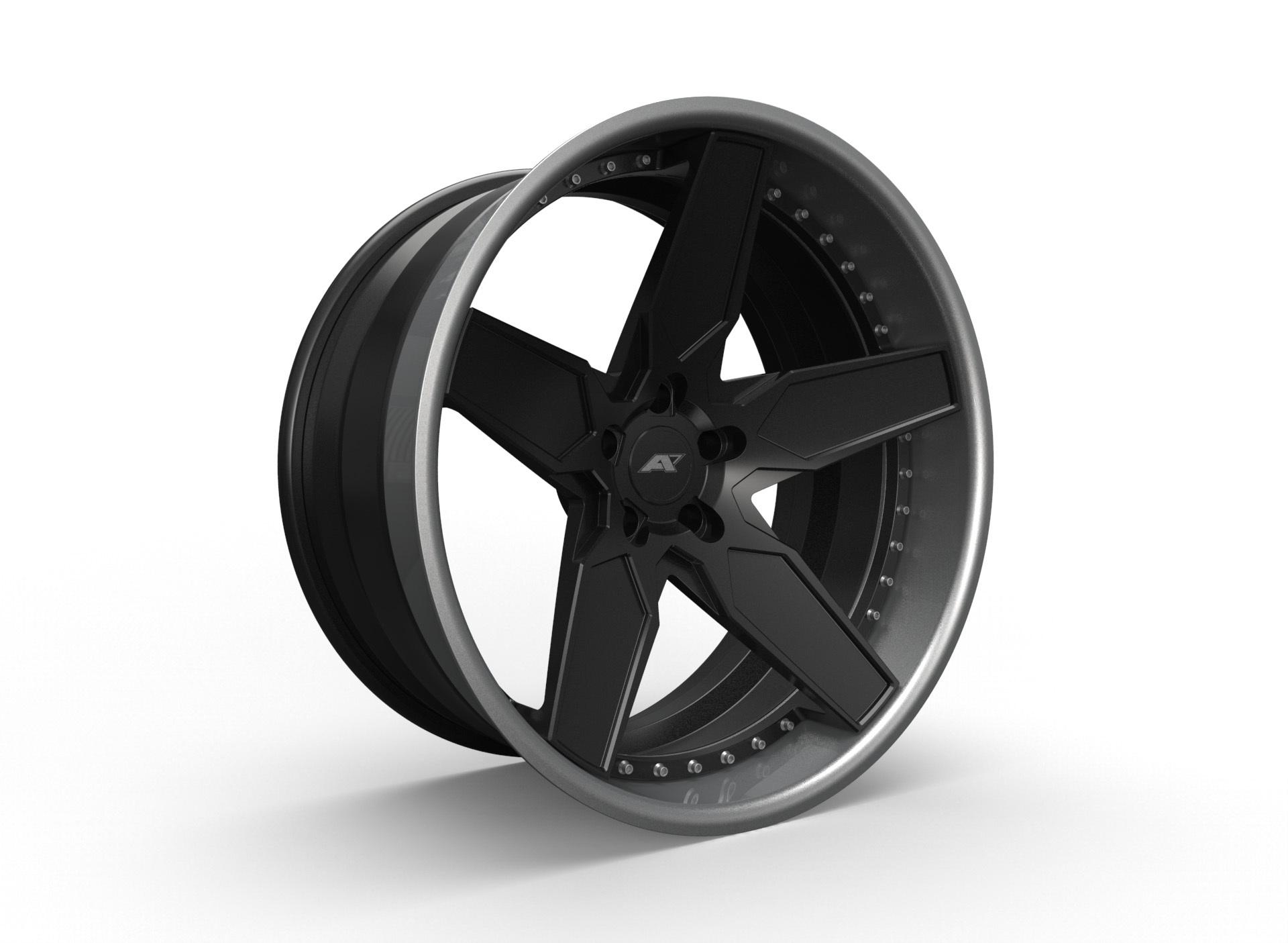 AMP Forged Wheels AMP 5C-3P FLAT LIP