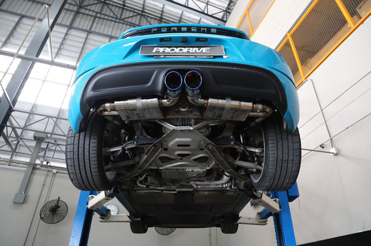 IPE exhaust system for Porsche 718 Boxster / Cayman