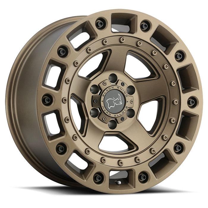 Black Rhino Cinco  light alloy wheels