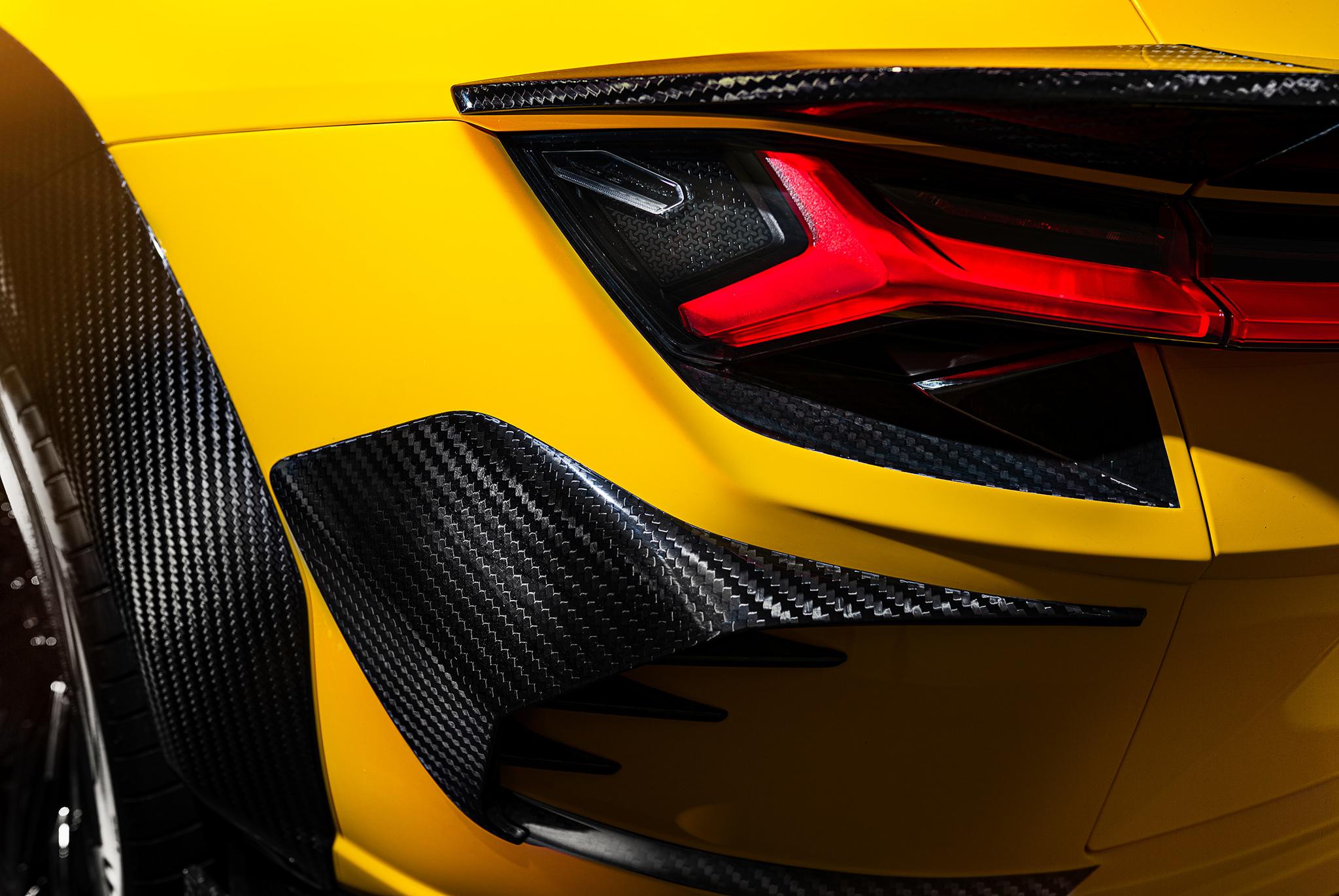 Keyvany body kit for Lamborghini Urus new model
