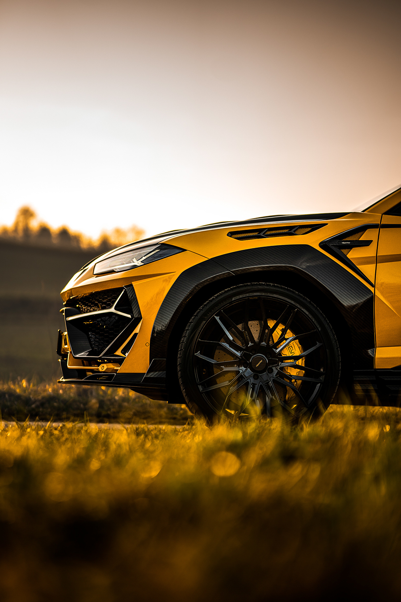 Keyvany body kit for Lamborghini Urus new style