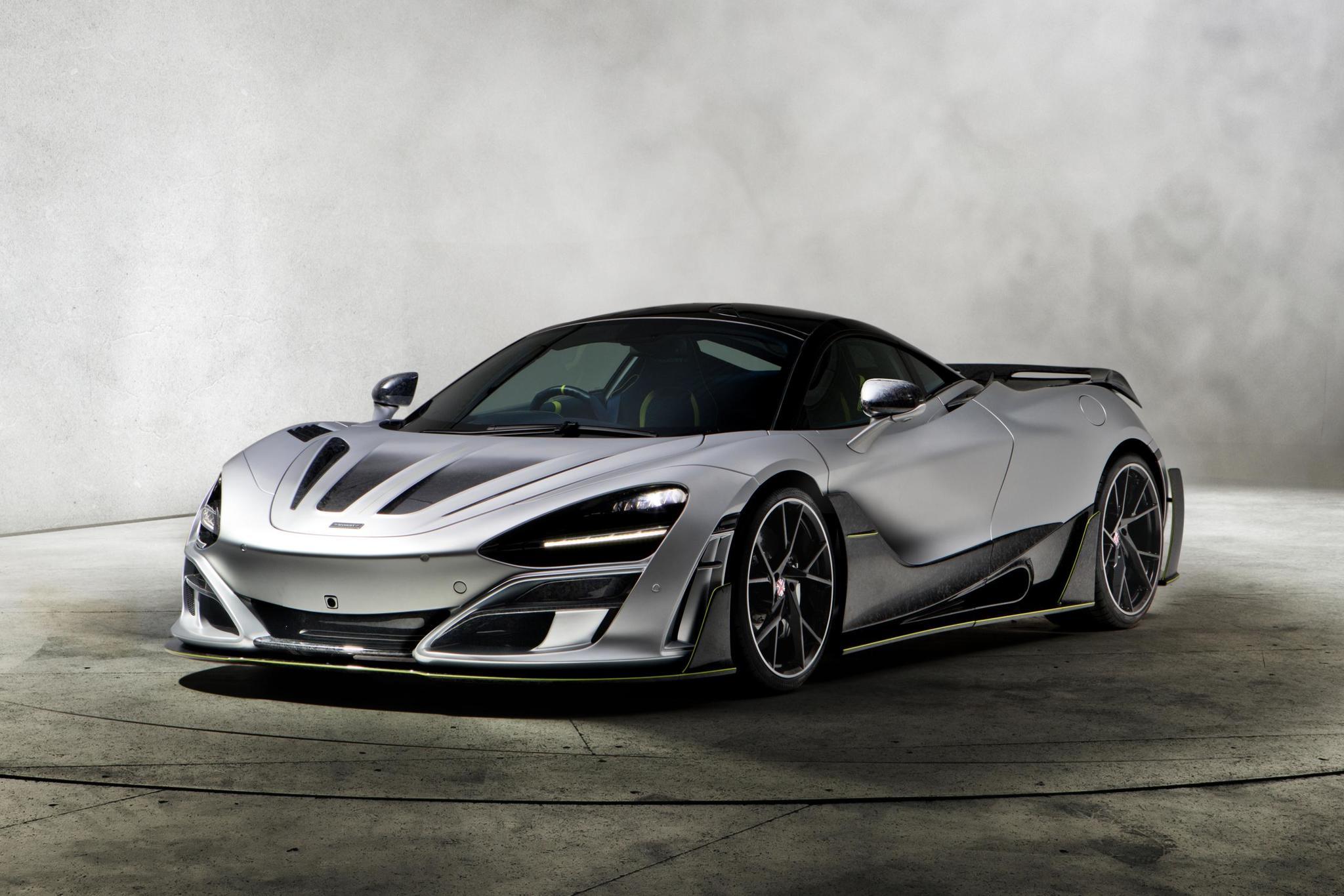 Mansory body kit for McLaren 720S new model