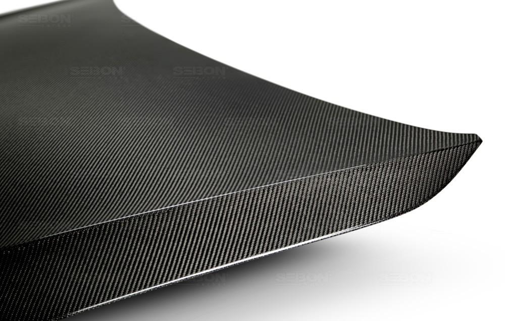 SEIBON OEM-STYLE CARBON FIBER HOOD FOR  VOLKSWAGEN GOLF / GTI / R new model