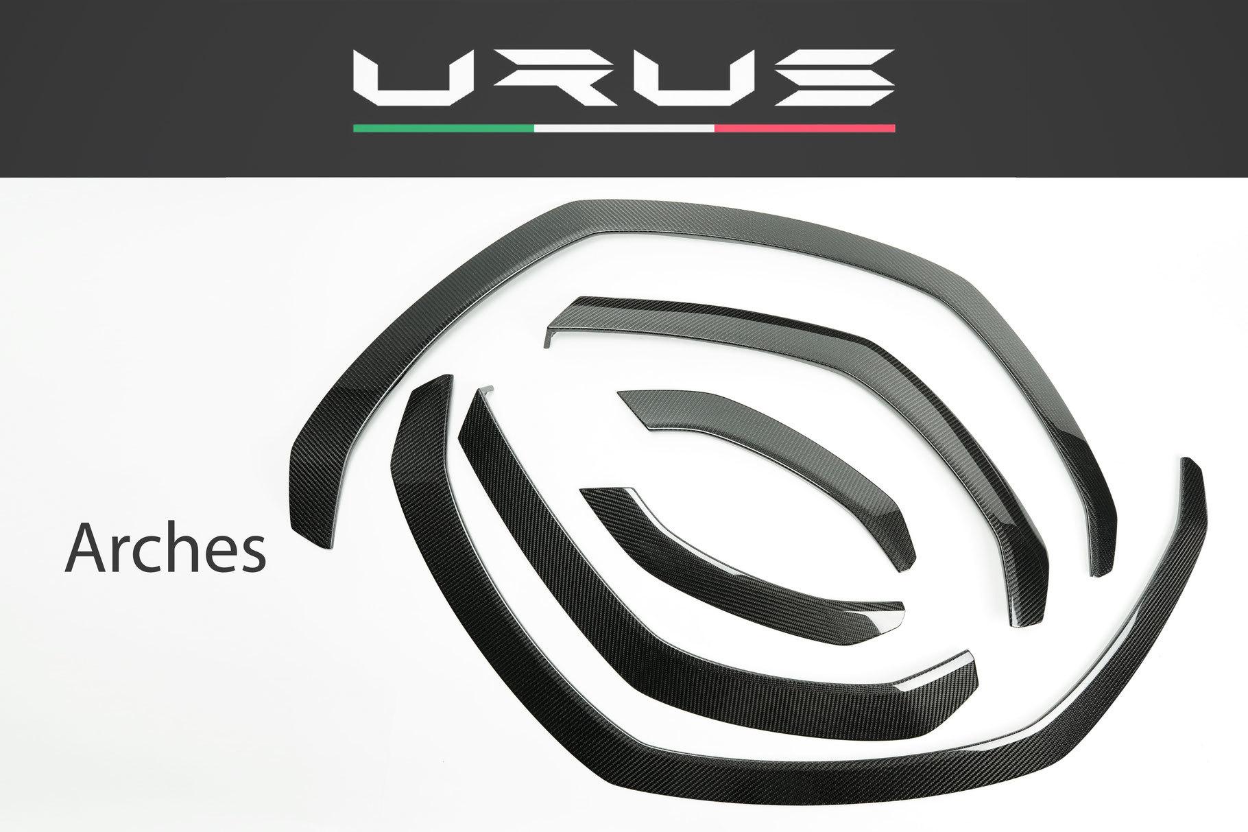 Hodoor Performance Carbon fiber arches Corsa for Lamborghini Urus carbon
