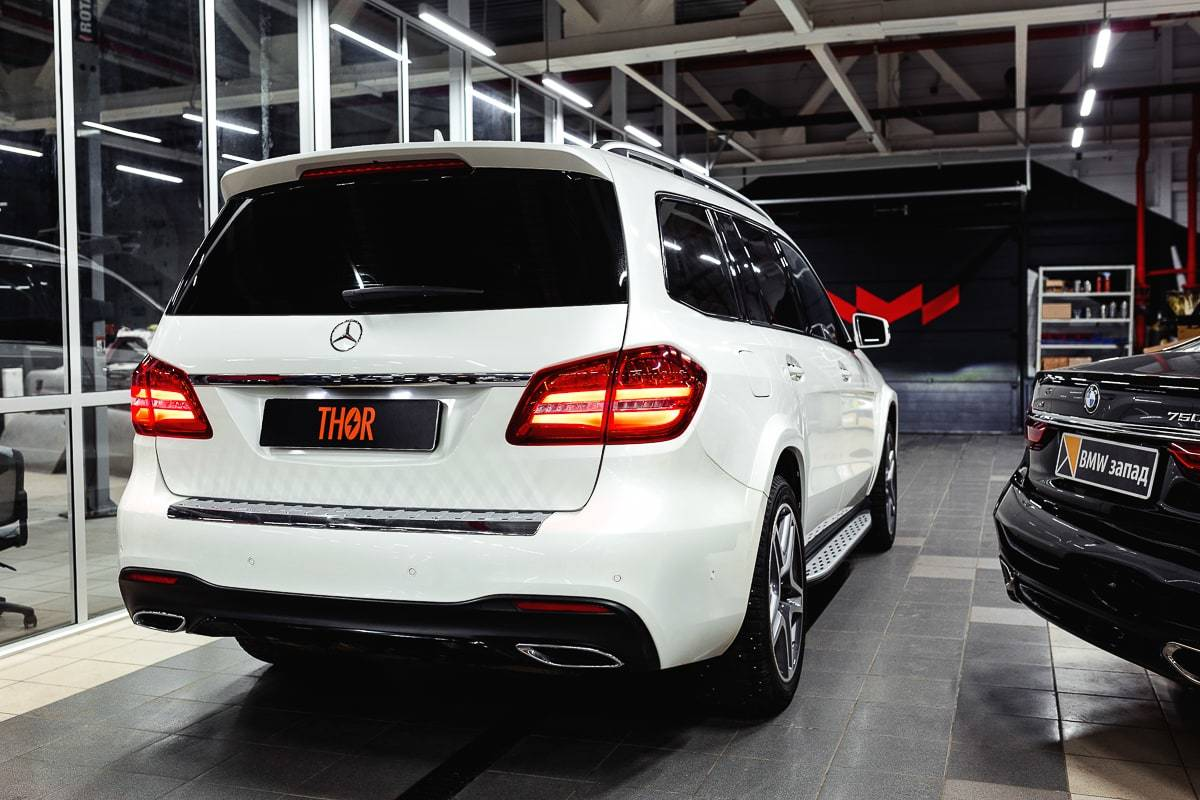THOR Exhaust Systems for Mercedes GLS 350D