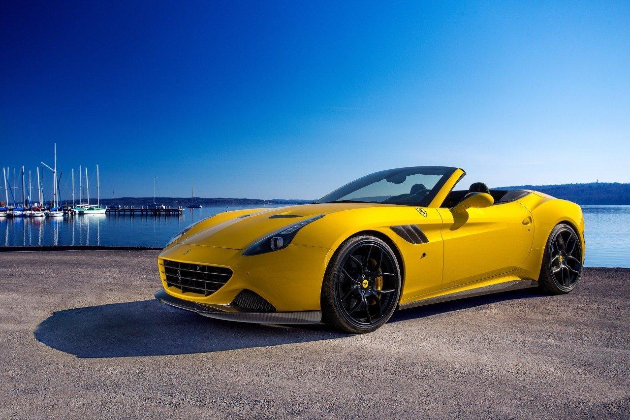 Novitec body kit for Ferrari California T