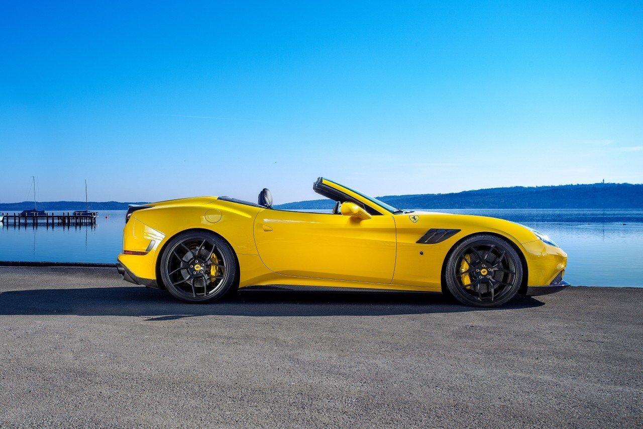 Novitec body kit for Ferrari California T new model