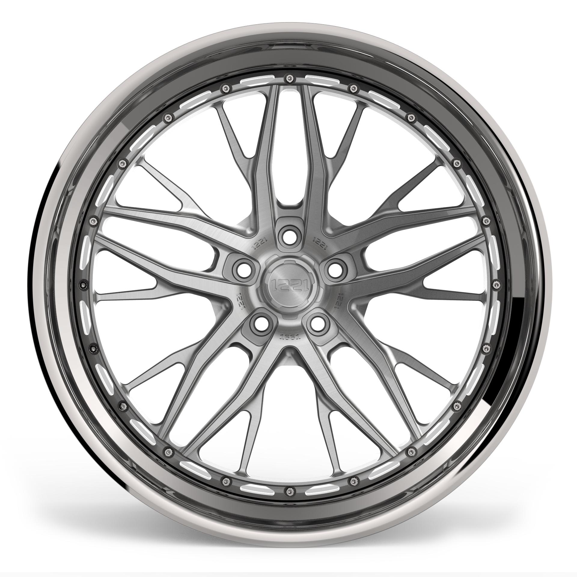 1221 Wheels 1661 AP3X APEX3.0 forged wheels