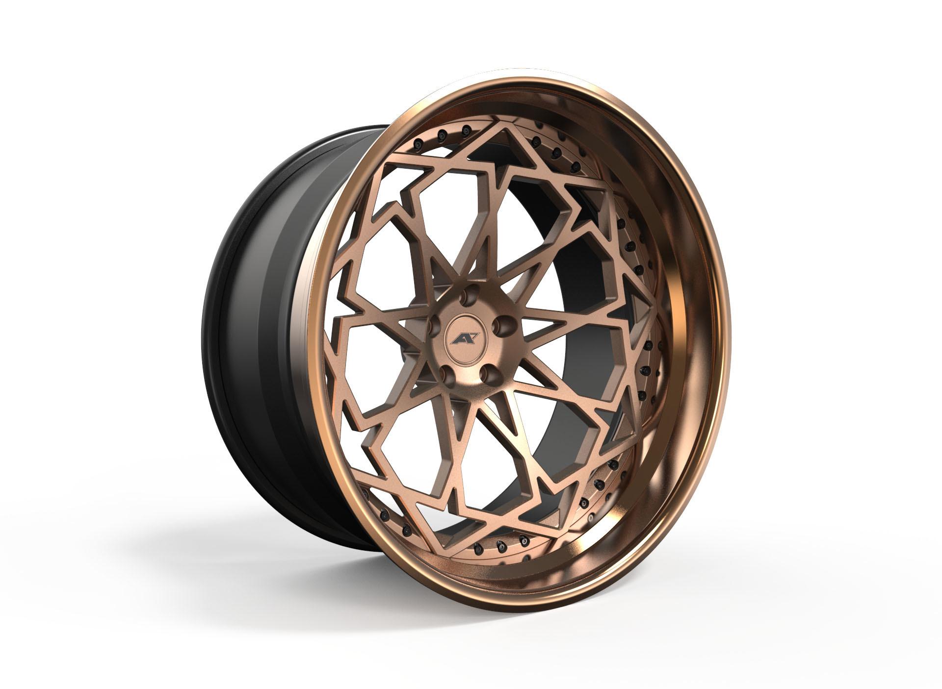 AMP Forged Wheels AMP 2020-3P STEP LIP