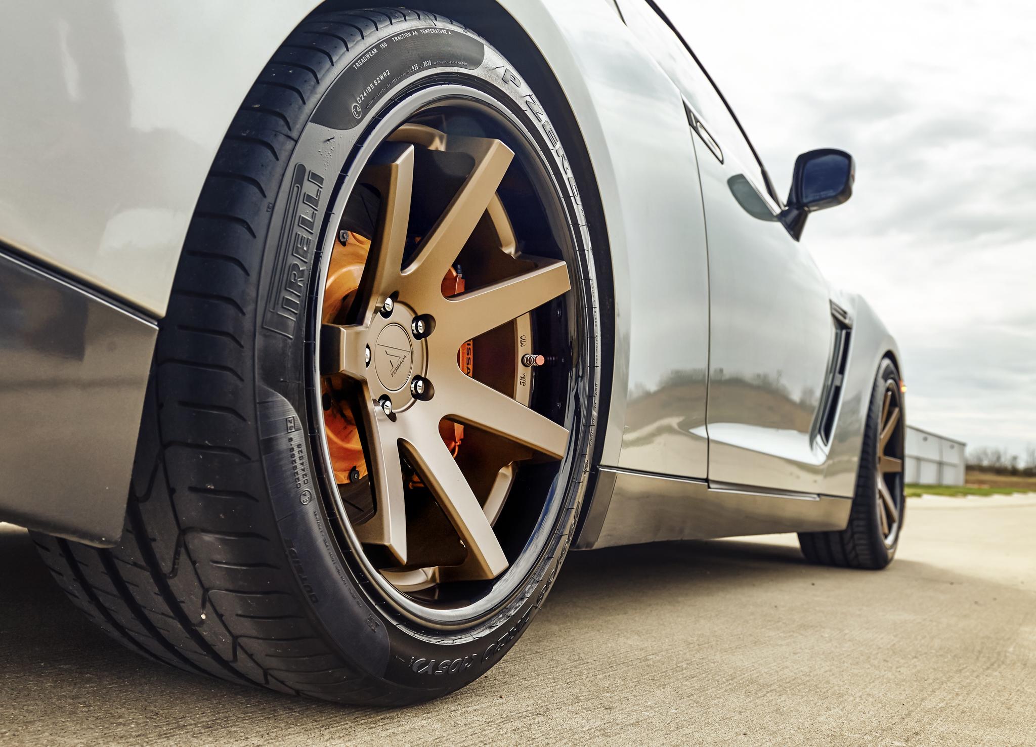 Ferrada FR1 forged wheels