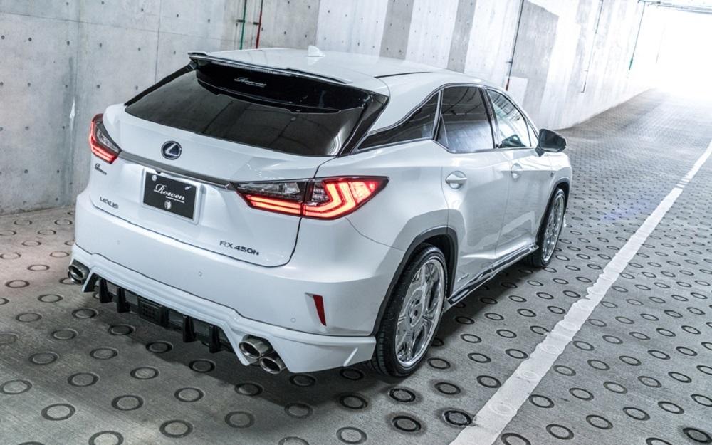 Rowen body kit for Lexus RX F-SPORT 450h/200t/300 Early Model carbon