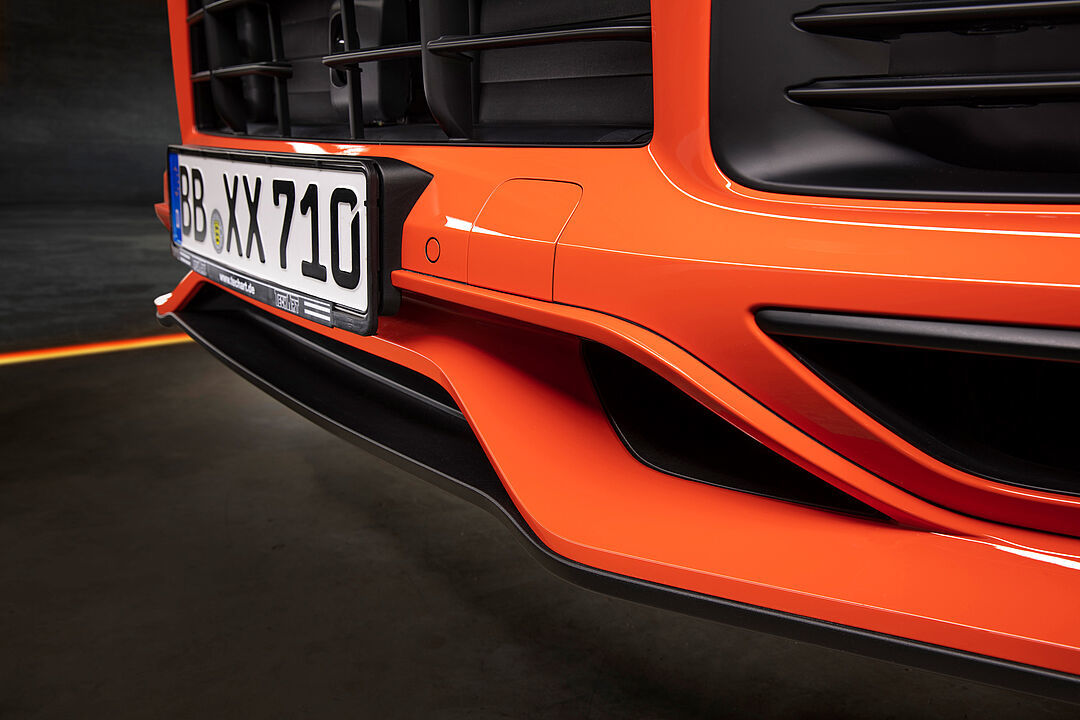 Techart body kit for Porsche Cayenne Coupe last model