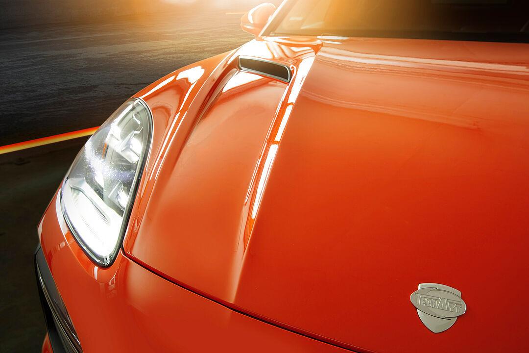 Techart body kit for Porsche Cayenne Coupe new model