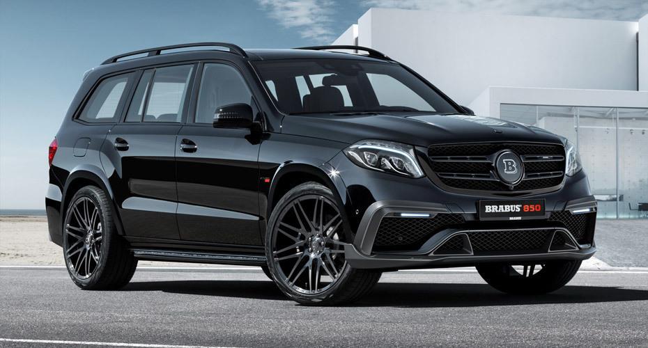 Brabus body kit for Mercedes GLS X166 new model