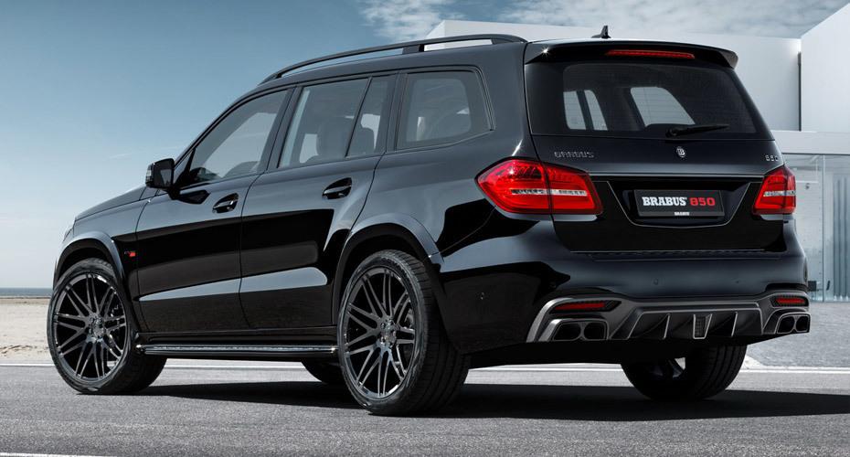 Brabus body kit for Mercedes GLS X166 new style