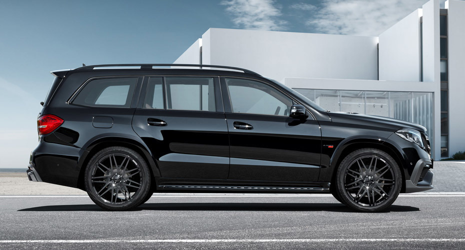 Brabus body kit for Mercedes GLS X166 carbon fiber