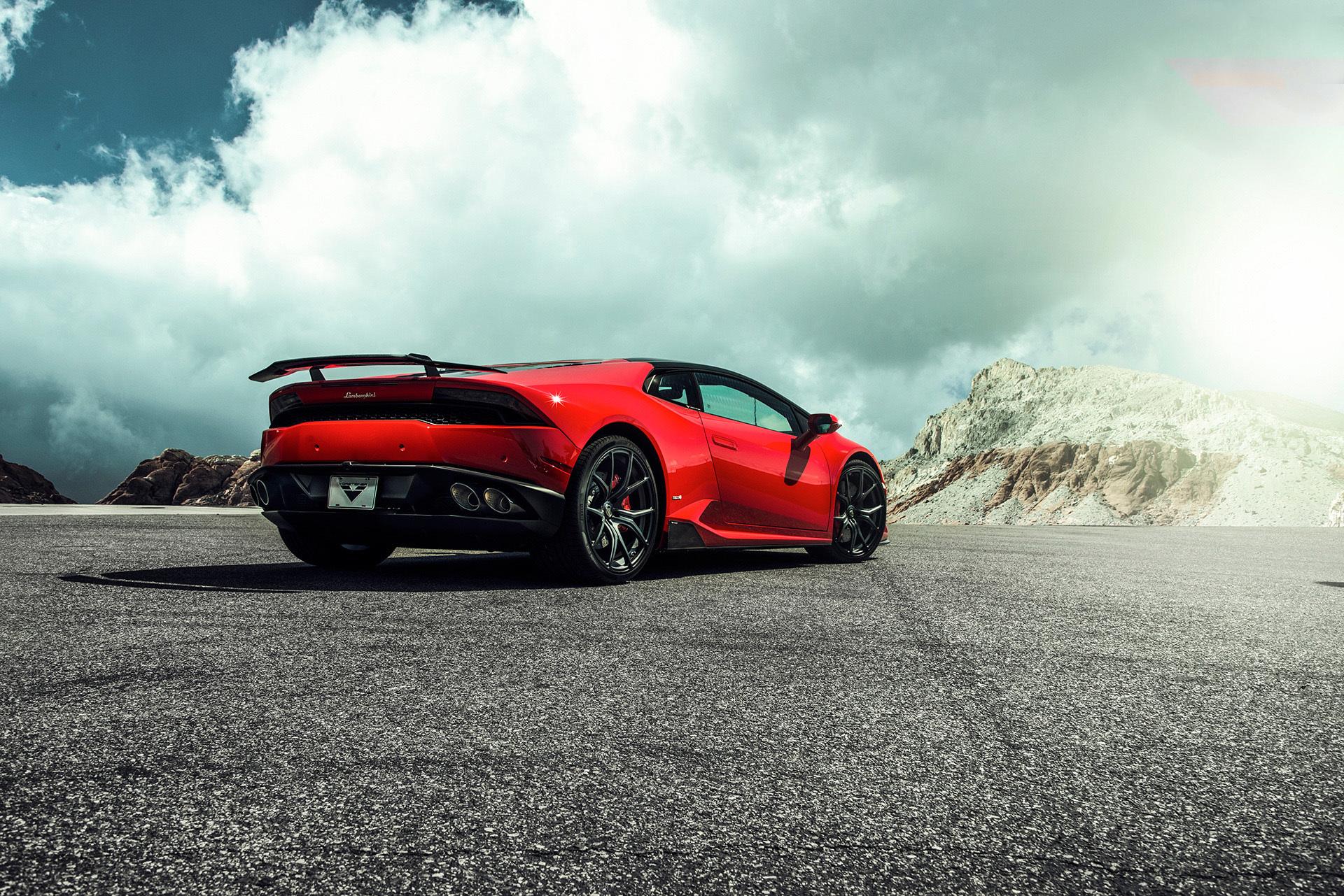Vorsteiner Nero body kit for Lamborghini Huracan Verona carbon fiber