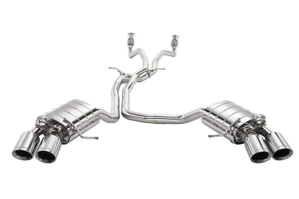 Xcentric Exhaust Systems for Porsche MACAN 3.0T