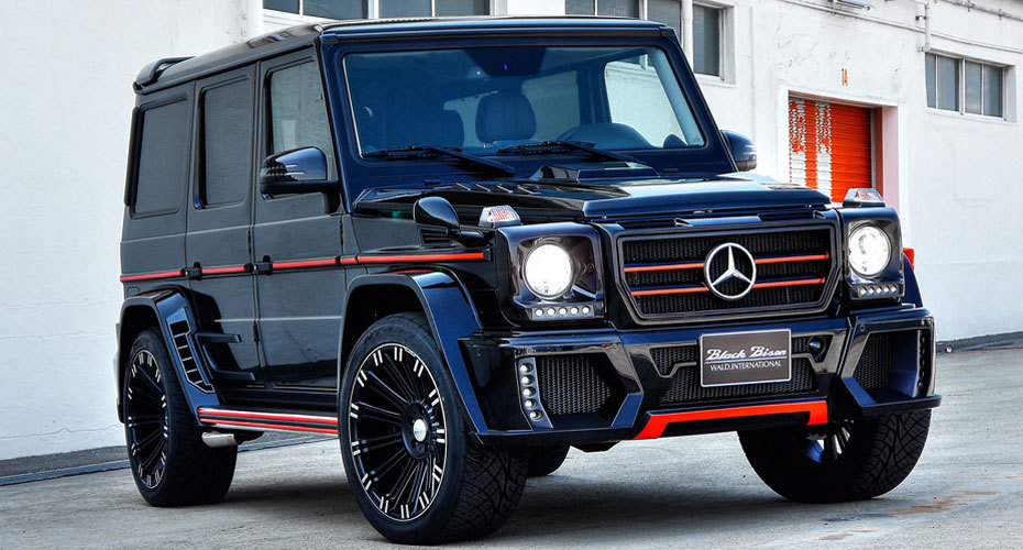 WALD Black Bison body kit for Mercedes W463 G-class Copy new model