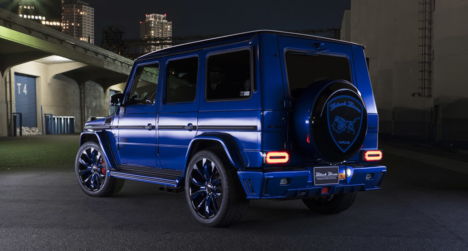 WALD Black Bison body kit for Mercedes G63 W463 Copy new style