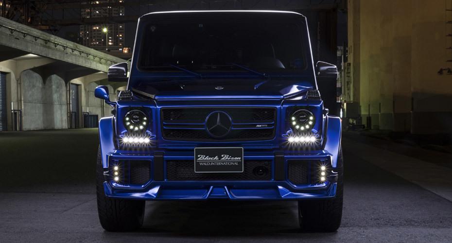 WALD Black Bison body kit for Mercedes G63 W463 Copy latest model