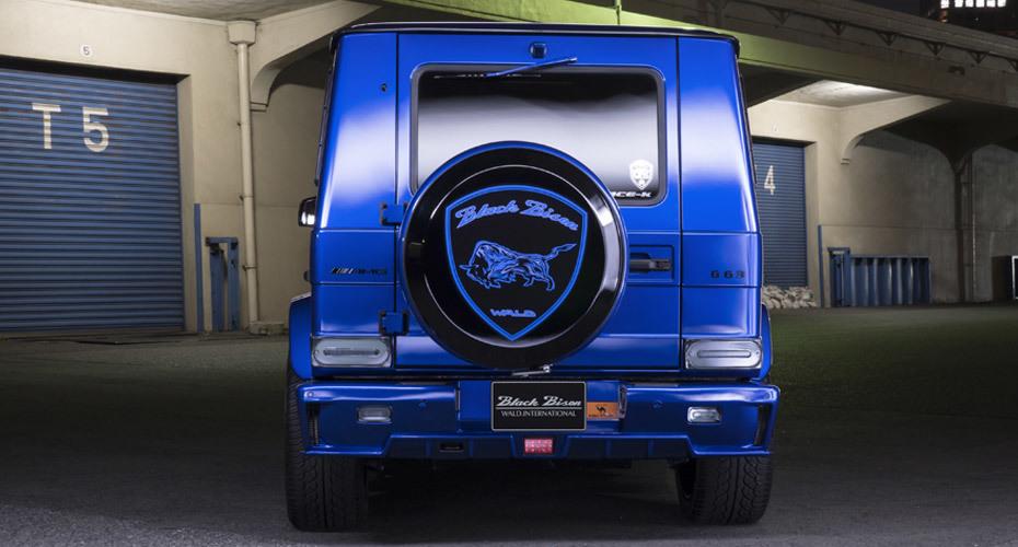 WALD Black Bison body kit for Mercedes G63 W463 Copy fiberglass