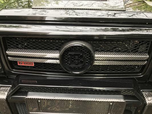 Hodoor Performance Carbon fiber Grille for Mercedes G-class