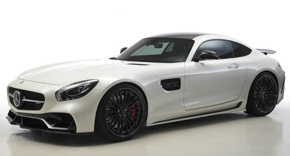 WALD Black Bison body kit for Mercedes AMG GT new model