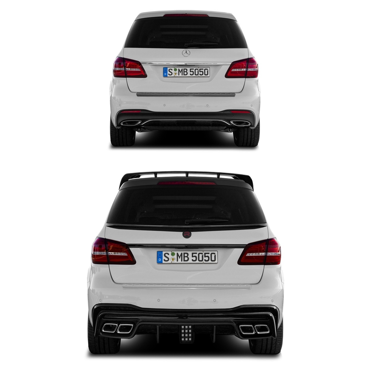 Renegade body kit for Mercedes-Benz GLE new model