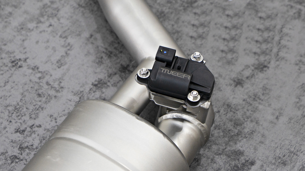 TNEER Exhaust Systems for BENTLEY Flying Spur - First Generation W12