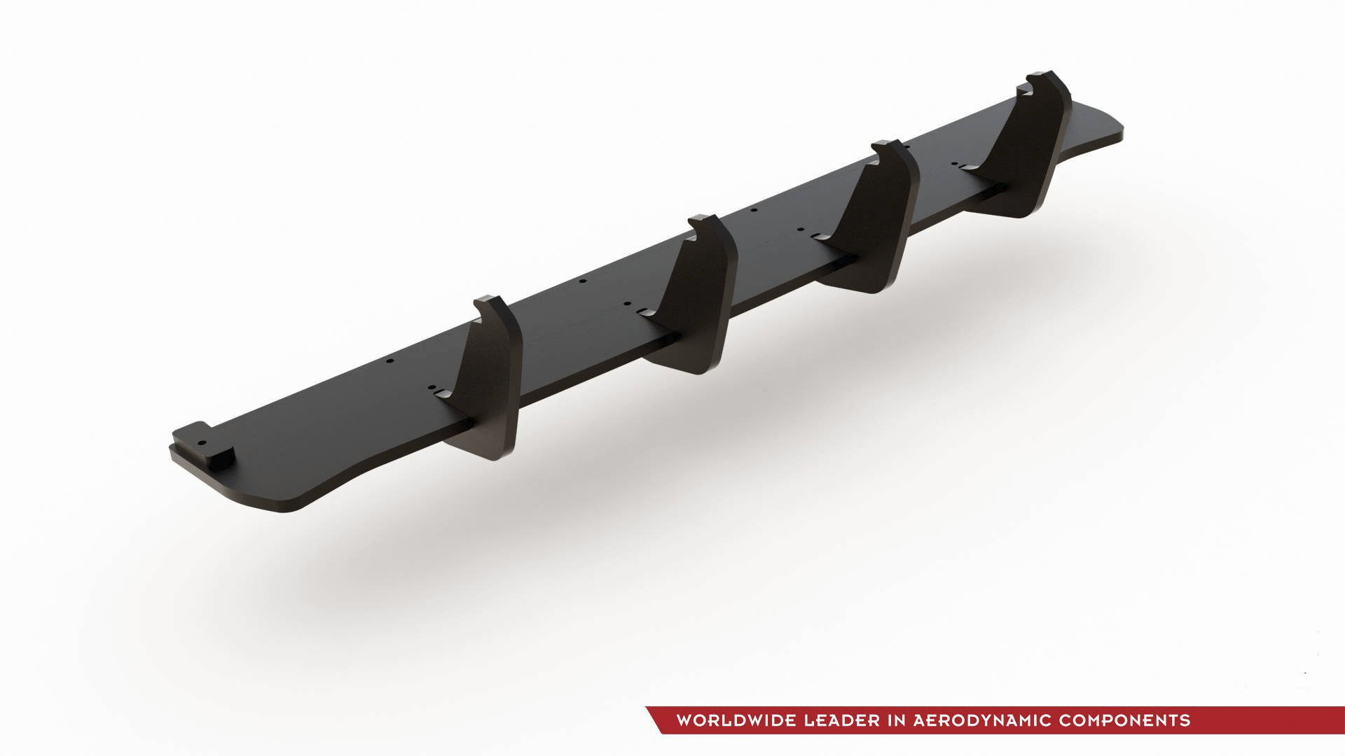 Maxton Design RACING DURABILITY REAR DIFFUSER FOR VW GOLF 7 GTI TCR abs plastic