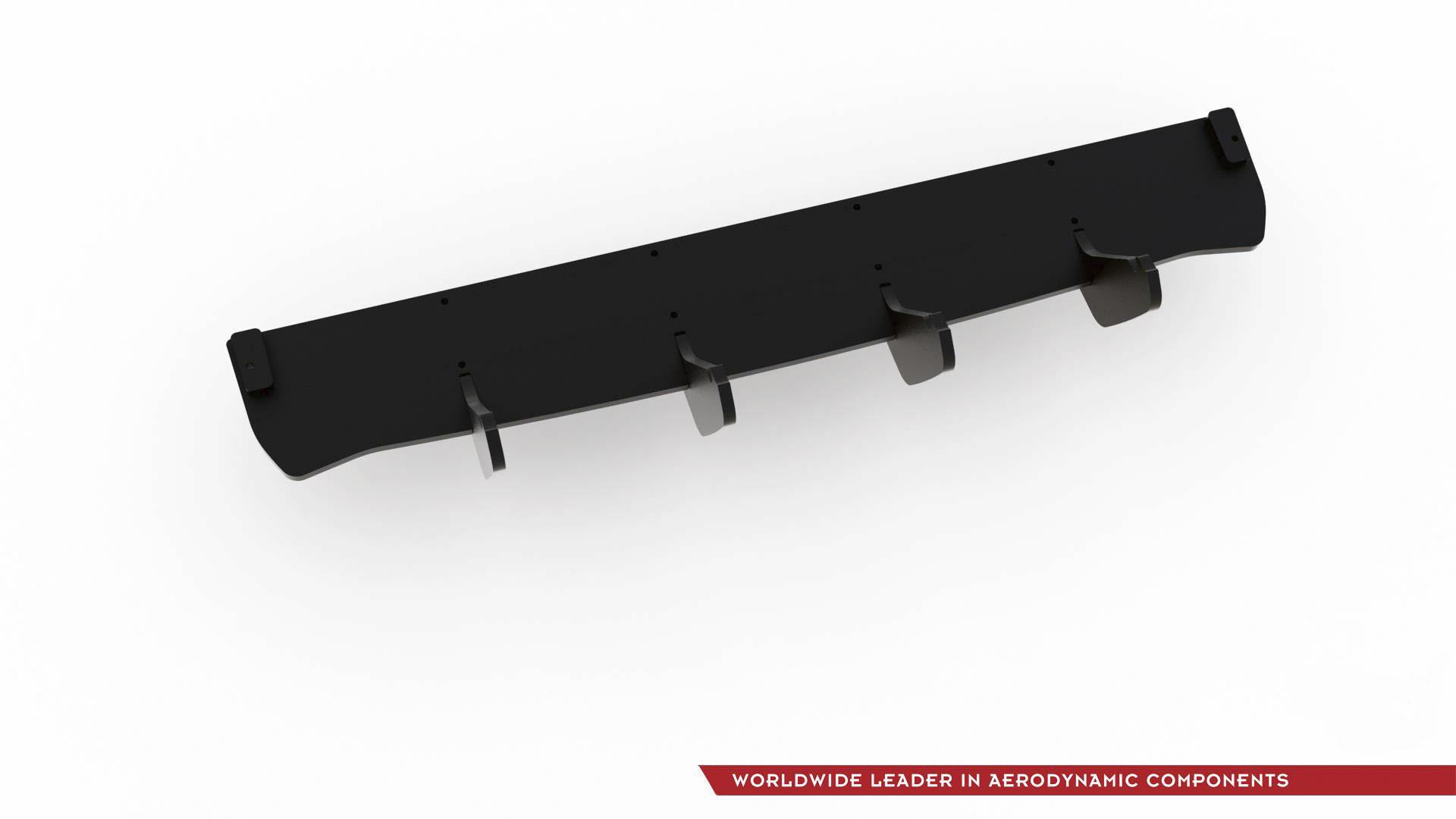 Maxton Design RACING DURABILITY REAR DIFFUSER FOR VW GOLF 7 GTI TCR latest model