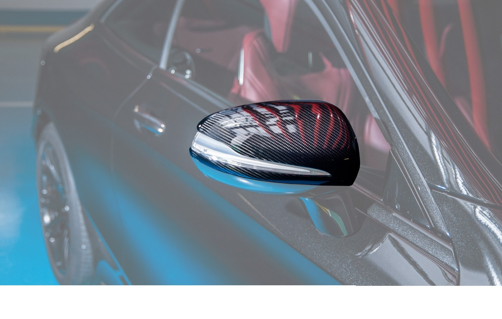 Hodoor Performance Carbon fiber Mirror housings for Mercedes S coupe w217