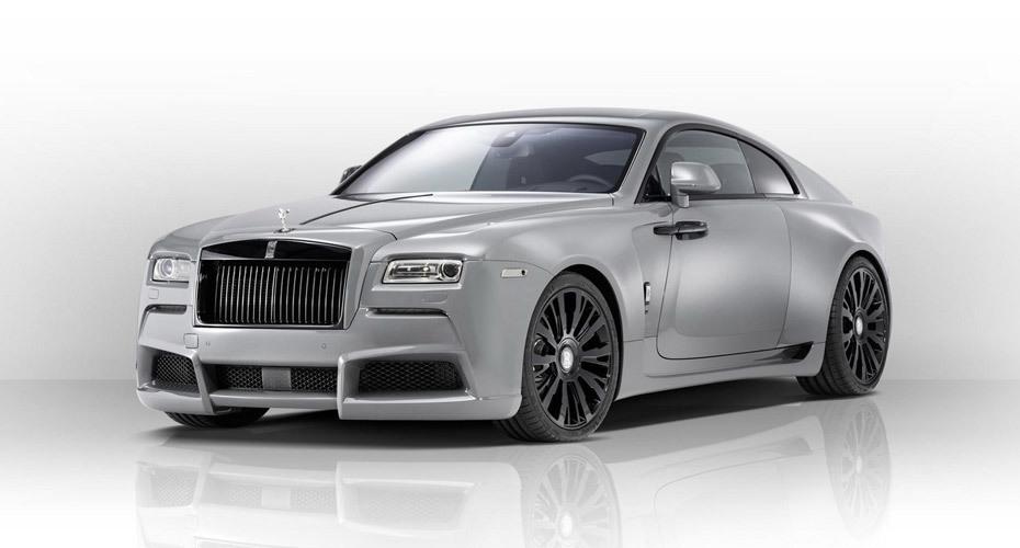 Novitec Overdose body kit for Rolls-Royce Wraith