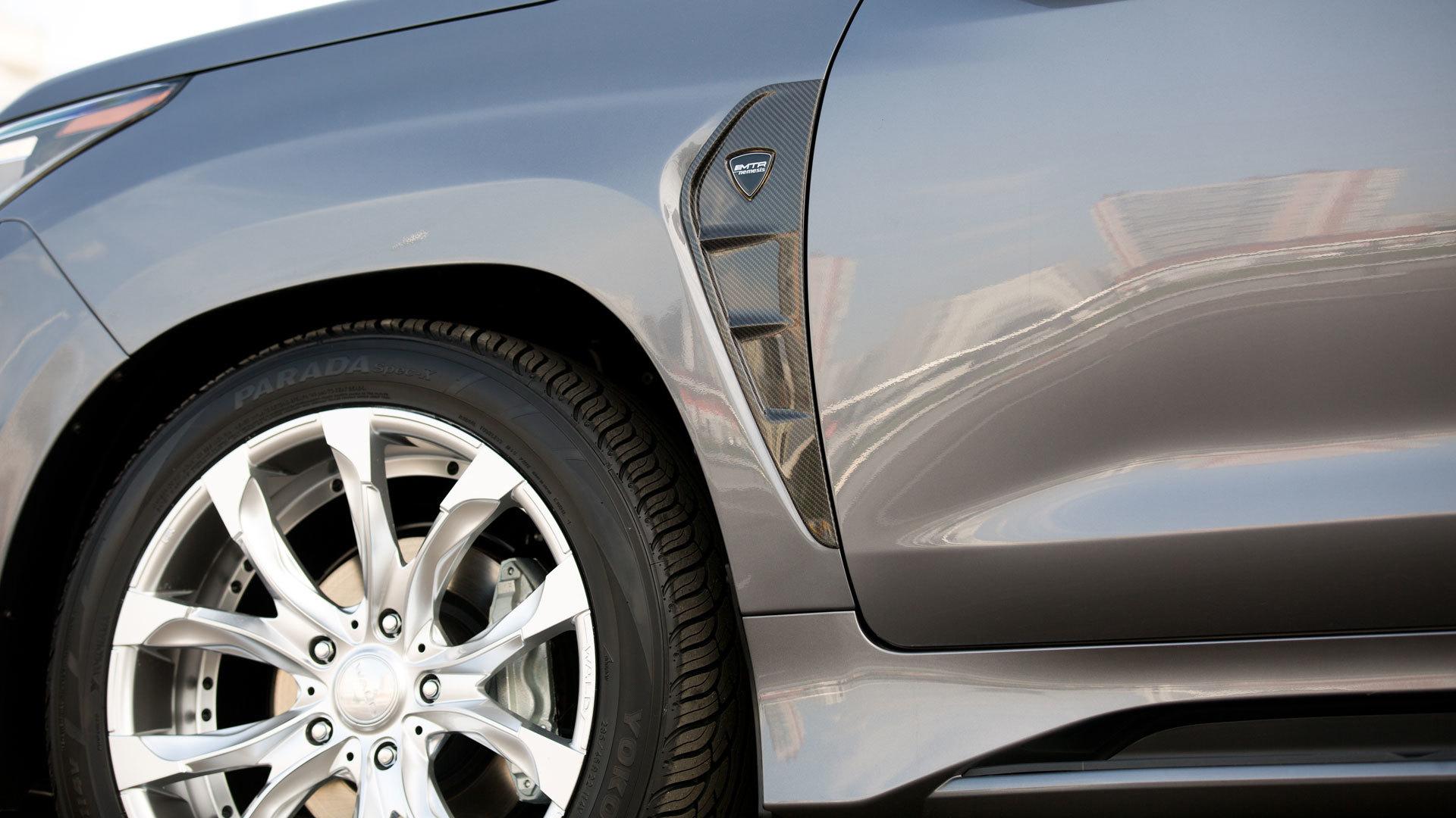 MTR Design Body kit for Lexus LX 570 latest model