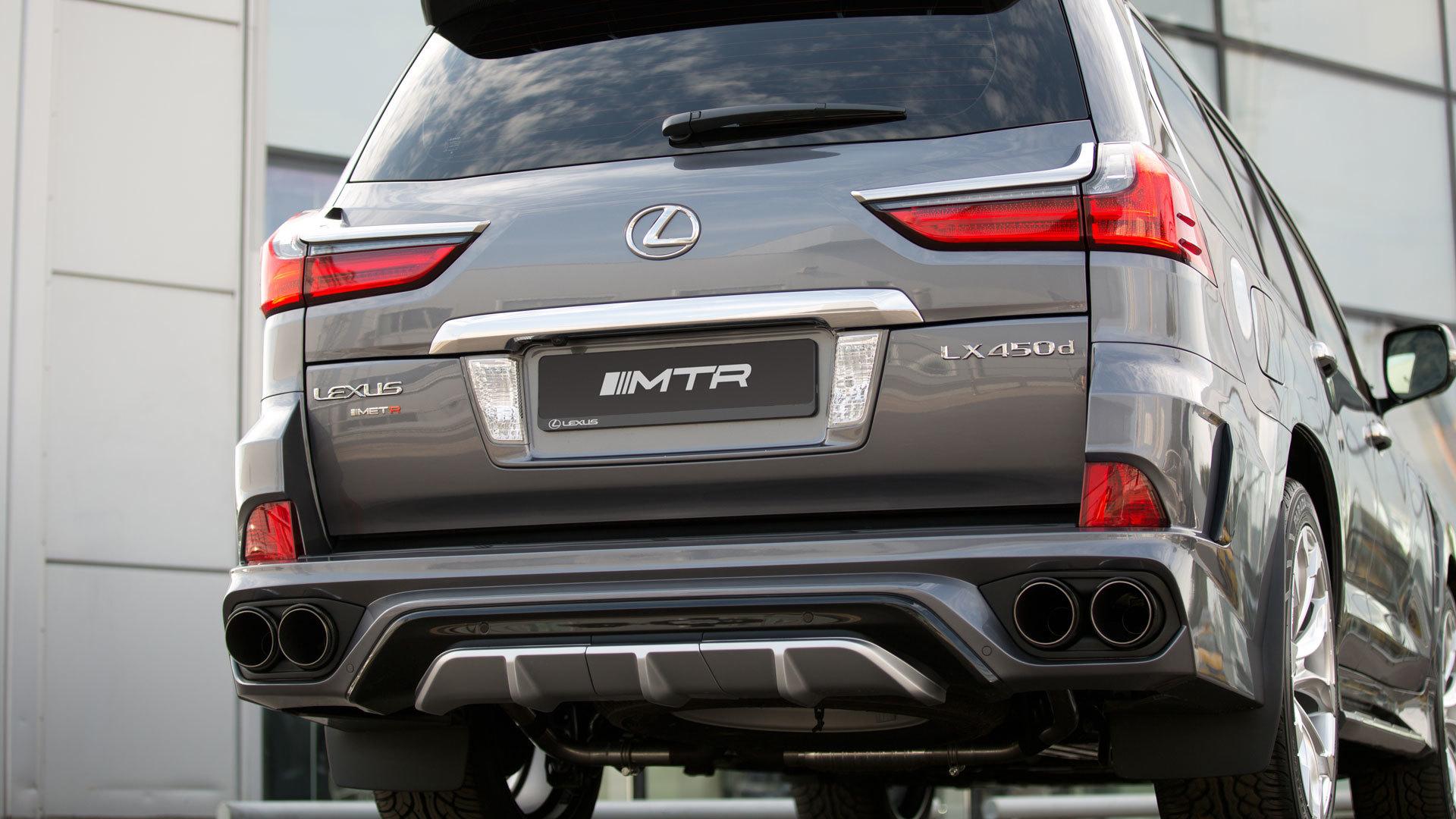 MTR Design Body kit for Lexus LX 570 new model