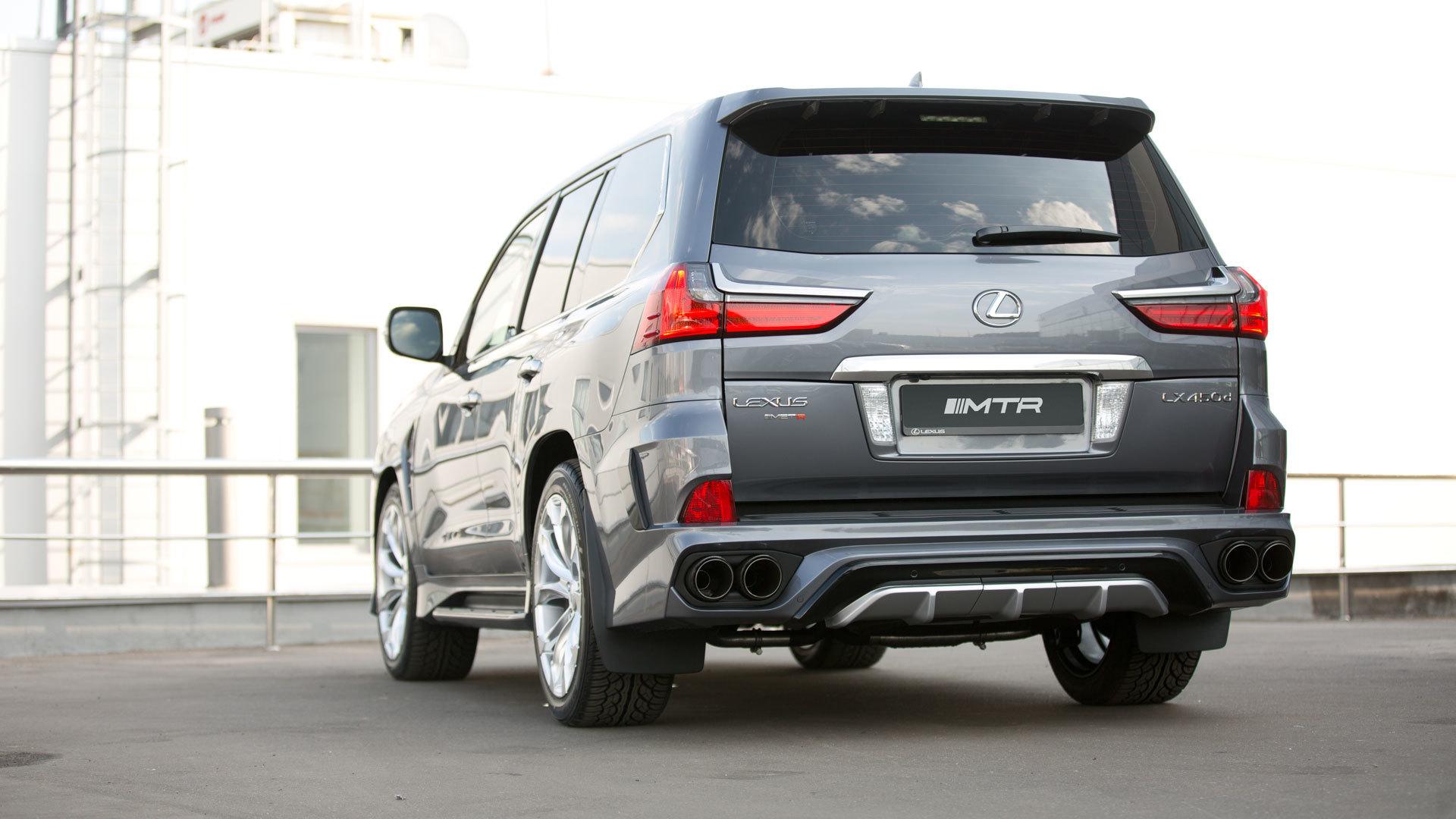 MTR Design Body kit for Lexus LX 570 carbon fiber