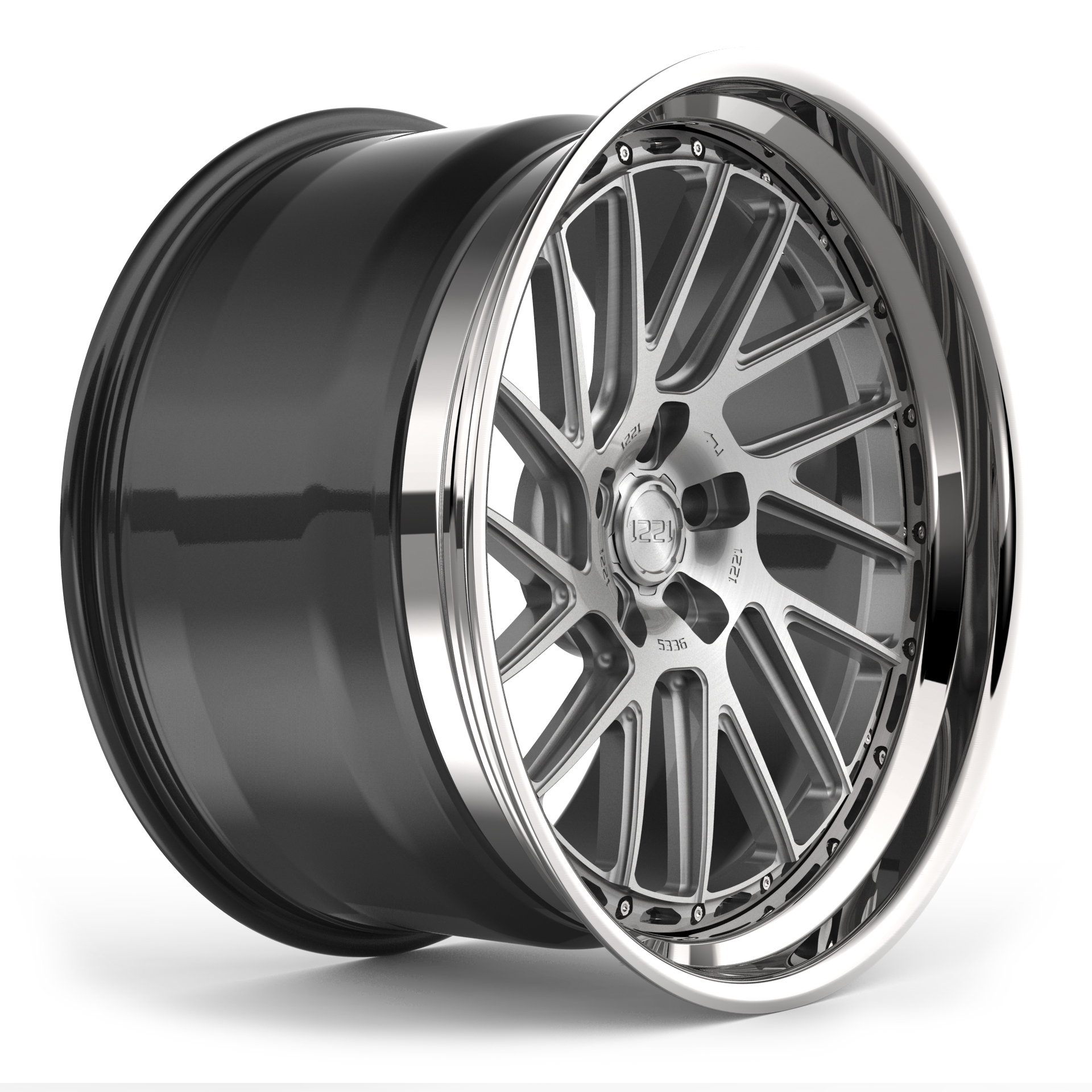 1221 Wheels R5336 AP3X APEX3.0 forged wheels