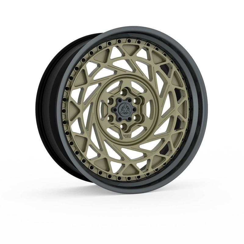 DTF OFF-ROAD CYCLONE forged wheels