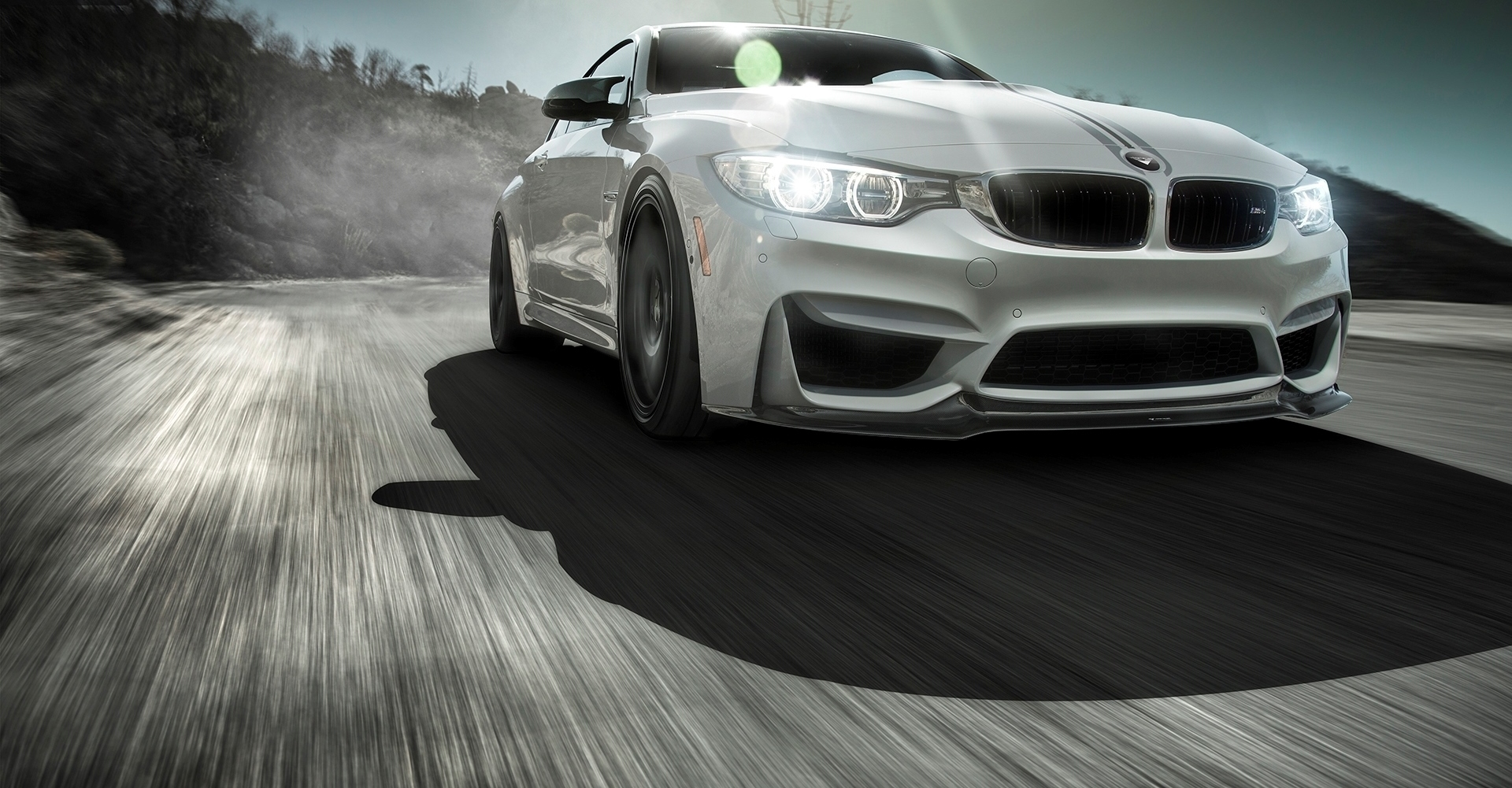 VORSTEINER STYLE CARBON FRONT SPOILER BUMPER FOR BMW M3 NEW STYLE